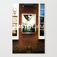 posters Canvas Prints featuring Amsterdam Posters by Cristhian Arias-Romero