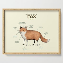 Anatomy of a Fox Serving Tray