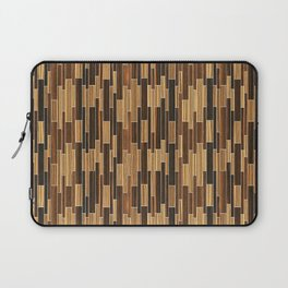 tile ebony + zebrawood Laptop Sleeve