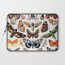 Adolphe Millot - Papillons A - French vintage poster Laptop Sleeve