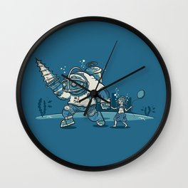 Number One Daddy Wall Clock
