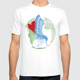 Earth Angel- Love Unearthed T-shirt