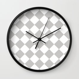 Sexy Checkers Wall Clock