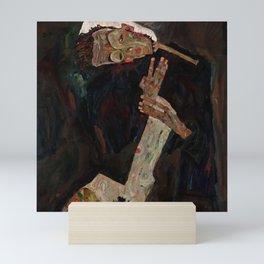 "Egon Schiele ""The Lyricist"" Mini Art Print"