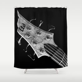 Engine of the Band Shower Curtain