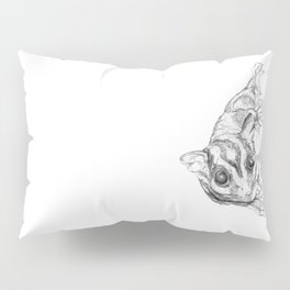 A Sketch :: A Sugar Glider Named Loki Pillow Sham