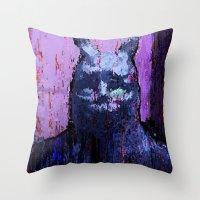 donnie darko Throw Pillows featuring Donnie Darko by brett66