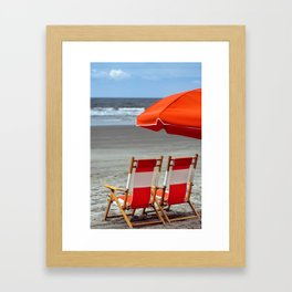 Kiawah Chairs Framed Art Print