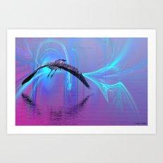 Into The Lagoon Art Print