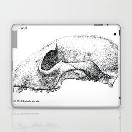Raccoon Skull Study Laptop & iPad Skin