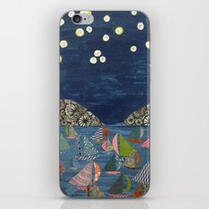 night sailing iPhone Skin