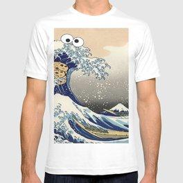 Great Wave off Kanagawa purple T-Shirt T-shirt