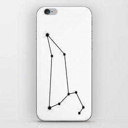 Leo Astrology Star Sign Minimal iPhone Skin