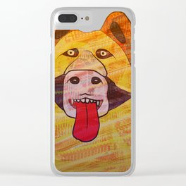 Smelling You Clear iPhone Case