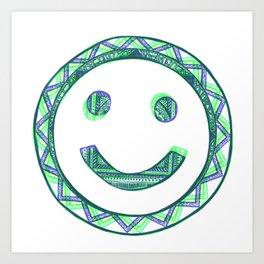 Happy Face Art Print