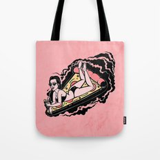 Floating Girl III Tote Bag