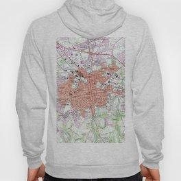 Vintage Map of Lancaster Pennsylvania (1956) 2 Hoody