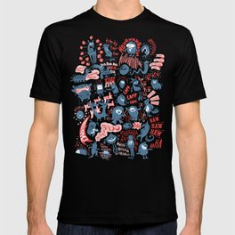 Merry Monsters T-shirt