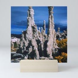 Mono Lake, California: Mysterious Tufa Standing Tall Mini Art Print