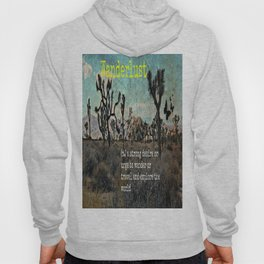 Wanderlust In The Wild Travel Quote Hoody