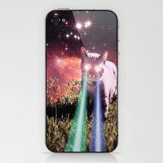 Mega Space Cat Rising iPhone & iPod Skin