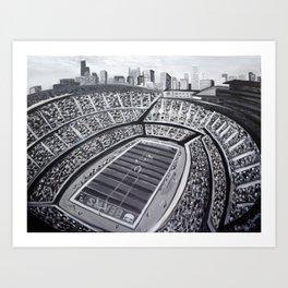 Chicago Bears Soldier Field Art Print