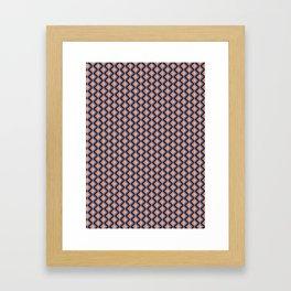 Geometric Pattern #010 Framed Art Print