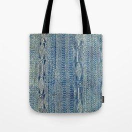 Ndop Cameroon West African Textile Print Tote Bag