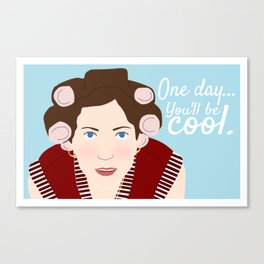 "Almost Famous ""One Day, You'll Be Cool"" Canvas Print"