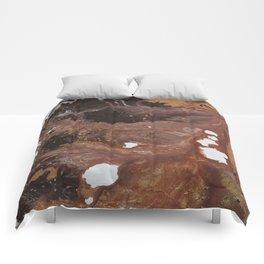 Copper abstract liquidity. Comforters