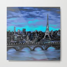 Eiffel Tower ~ Paris France Metal Print