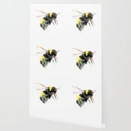 Bumblebee, bee art flying bee design honey bee wildlife Wallpaper
