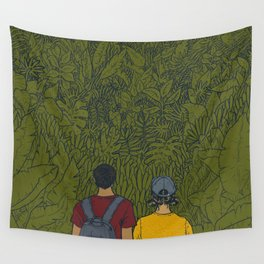On Sunday Wall Tapestry