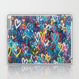Love Wall Graffiti Street Art Laptop & iPad Skin