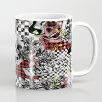 50s Mugs featuring 50s rock n roll by Mickaela Correia