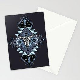Vintage ethnic geometric hand drawn illustration Stationery Cards
