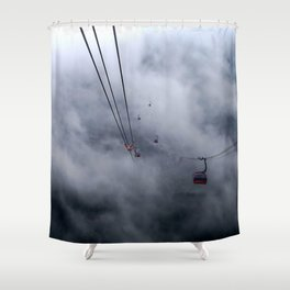 Direct access to outer space? Shower Curtain