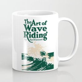 The Art of Wave Riding 1931, First Surfing Book Artwork, for Wall Art, Prints, Posters, Tshirts, Men, Women, Kids Coffee Mug