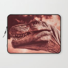 Dinosaur sephia Laptop Sleeve