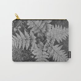 Ansel Adams - Close-up of Fern at Glacier National Park Carry-All Pouch