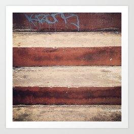 Tagged Art Print
