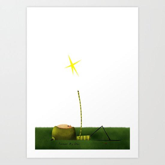 ...Star Art Print