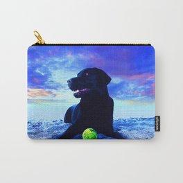 Ziggy Black Labrador Carry-All Pouch
