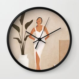That Summer Feeling III Wall Clock