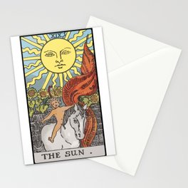 19 - The Sun Stationery Cards