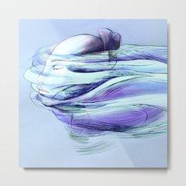 Stream of consciousness (sans words) Metal Print