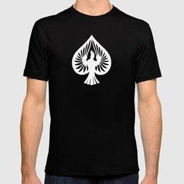 White Phoenix Ace of Spades T-shirt