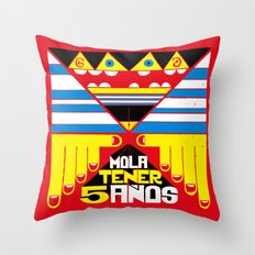 Mola Tener 5 Años / It´s Cool to be 5. Throw Pillow