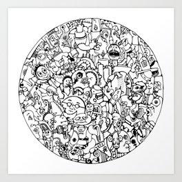 Circle Of Everything Art Print