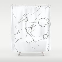 Graphisme Shower Curtain